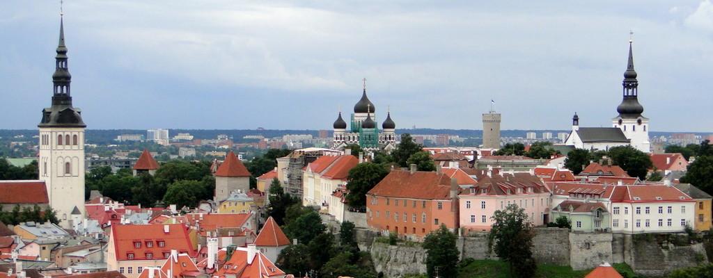 O Centro Histórico de Tallinn