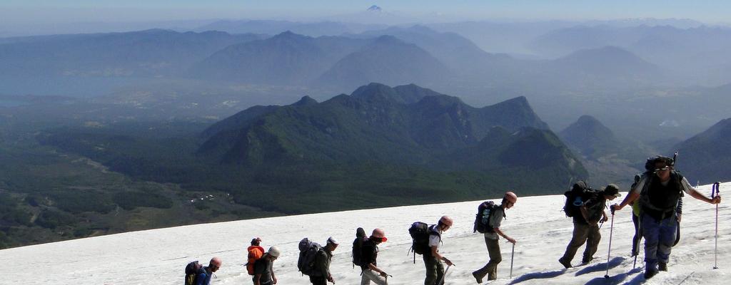 A Subida ao Vulcão Villarrica