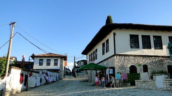 Ruas do Castelo de Berat