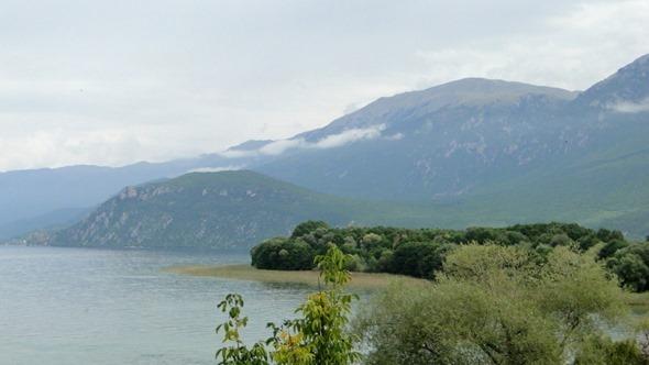 Vista do Lago Ohrid