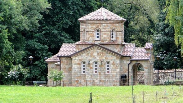 Arredores do Mosteiro de São Naum