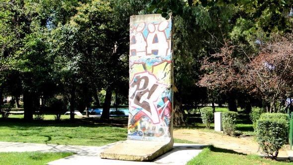 Pedaço do muro de Berlim