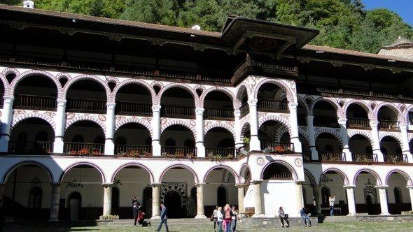 Mosteiro de Rila - Acomodação dos monges