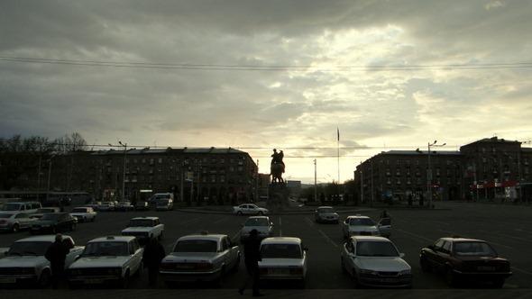 Amanhecer em Yerevan