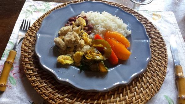 Hospedagem Santo Antônio - Almoço vegetariano