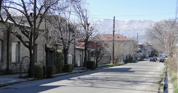Casas de pedras em Goris