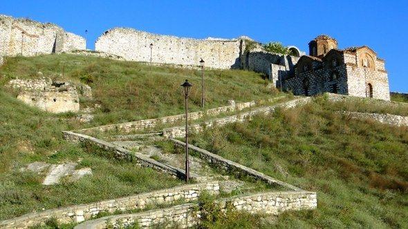 Igreja no Castelo de Berat