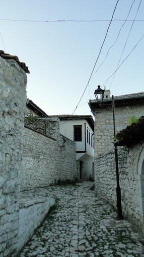 Ruas no Castelo de Berat