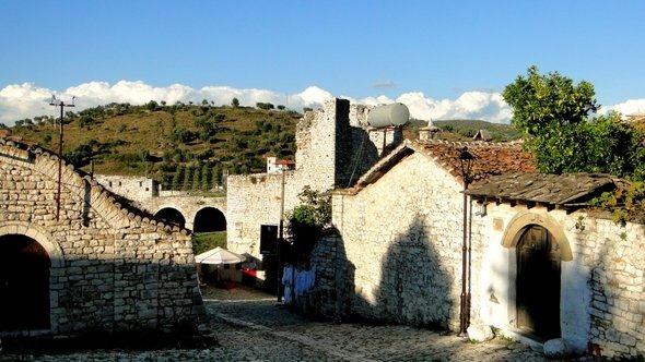 Kalaja, o Castelo de Berat
