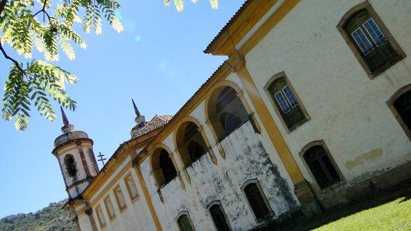 Lateral da Igreja de São Francisco de Assis