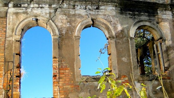 Casa abandonada em Ouro Preto