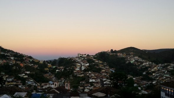 Entardecer em Ouro Preto