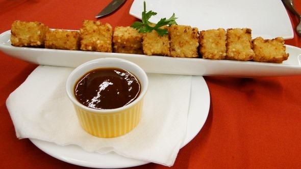 Restaurante Banzeiro - Dadinhos de Tapioca