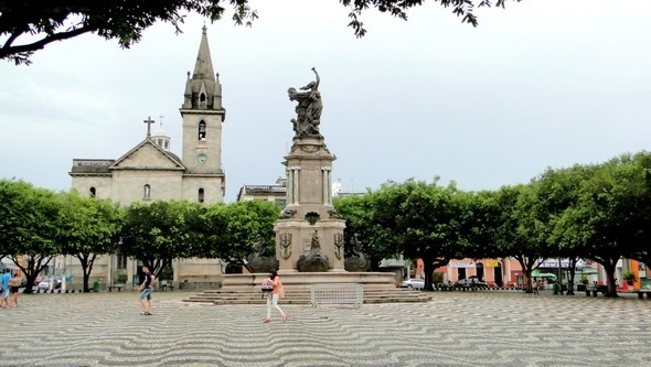 Praça São Sebastião - Manaus