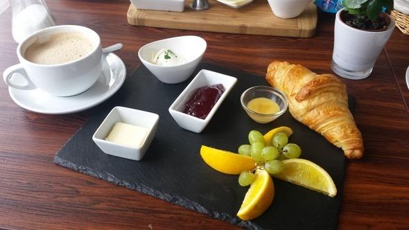 Ost-West-Café - Café da manhã vegetariano