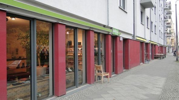 Rua vegana em Berlim