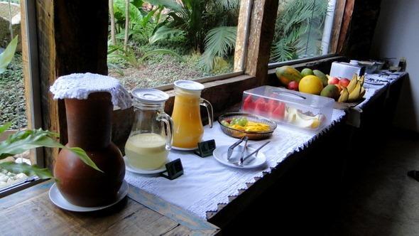 Pouso da Chica - Café da manhã