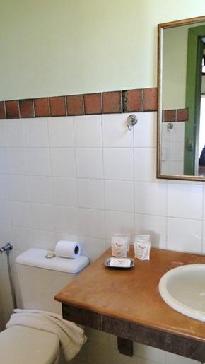 Pouso da Chica - Banheiro do Chalé