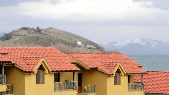 Hotel no Lago Sevan